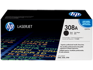 HP Q2670A BK sort Lasertoner, Original