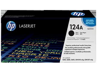 HP Q6000A BK sort Lasertoner, Original