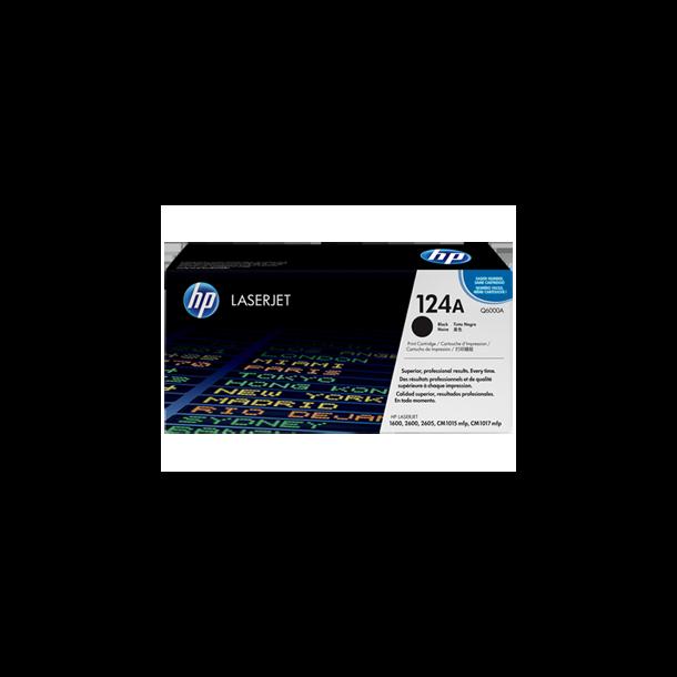 HP Q6000A BK sort Lasertoner,