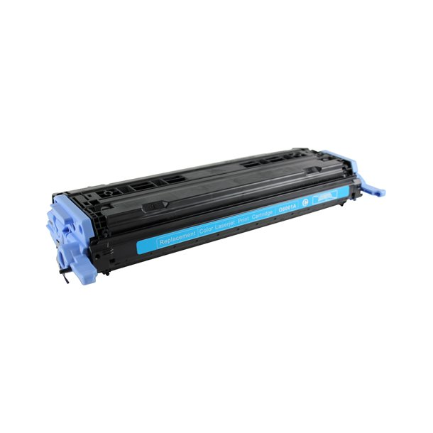 HP 124A (Q6001A) Lasertoner Cyan, (2000 sider)