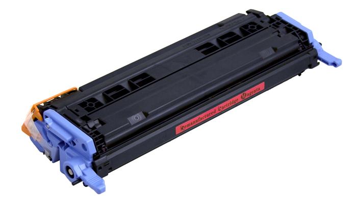 Image of   HP 124A (Q6003A) Lasertoner Magenta, kompatibel (2000 sider)