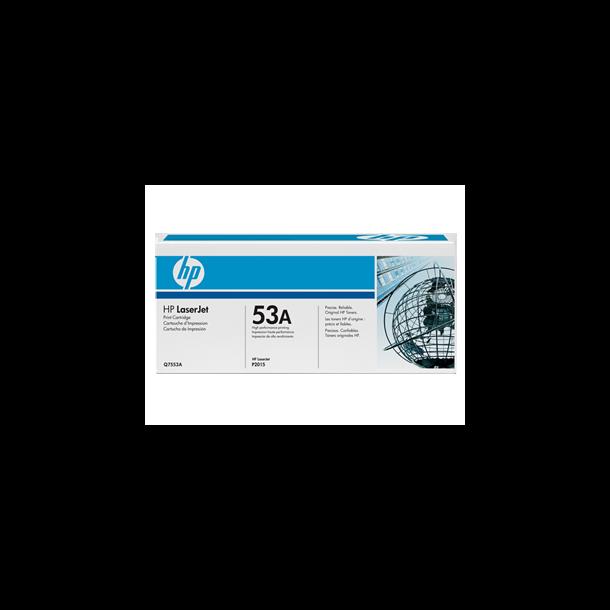 HP Q7553A BK sort Lasertoner,