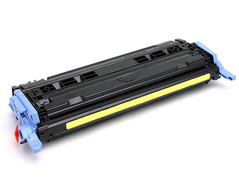 Image of   HP 124A (Q6002A) Lasertoner, Gul, kompatibel (2000 sider)