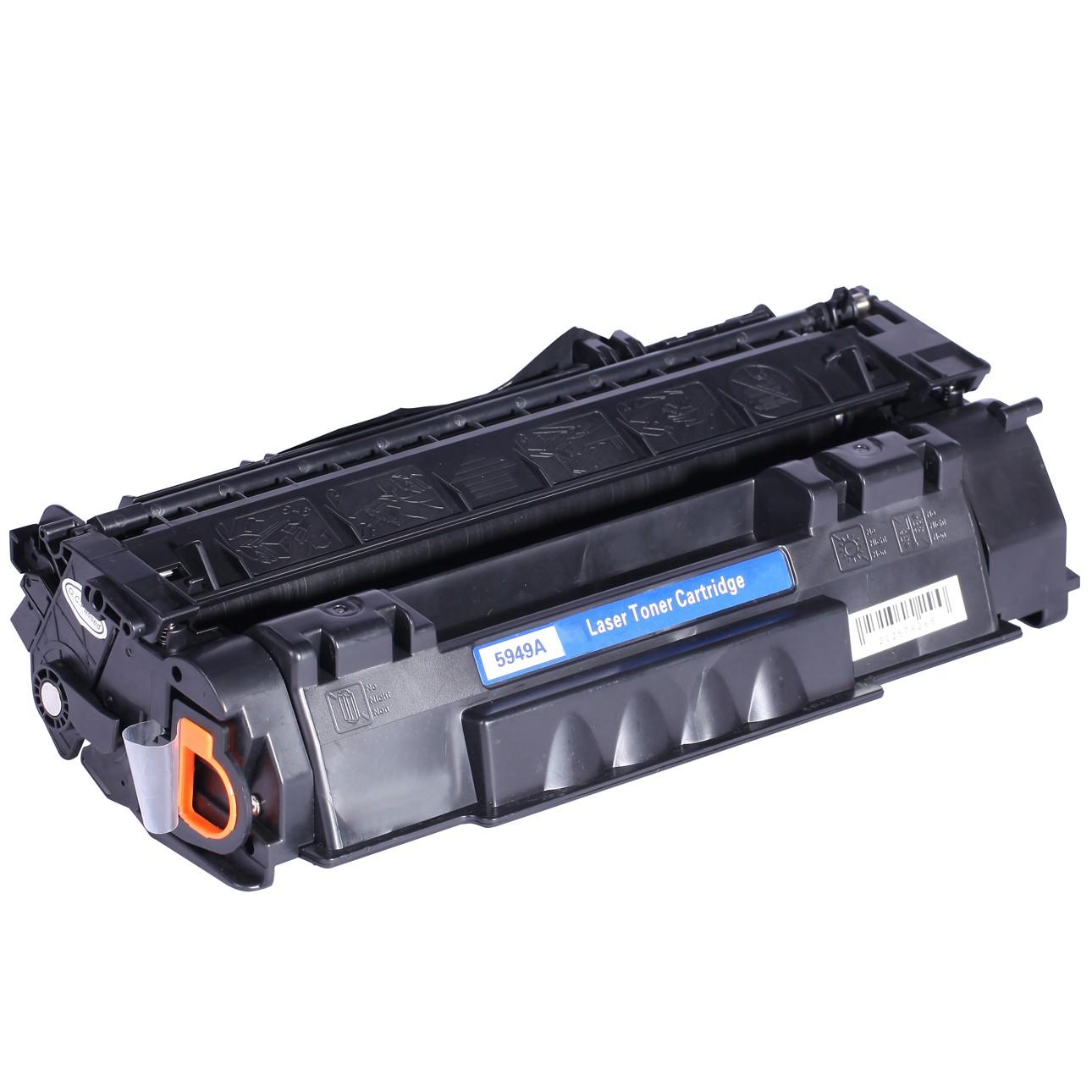 Image of   HP 49A (Q5949A) Lasertoner, sort, kompatibel (2500 sider)