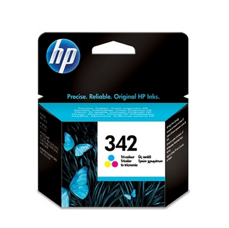 Image of   HP 342 C (CC9361EE) 3 farve blækpatron, Original, 5ml