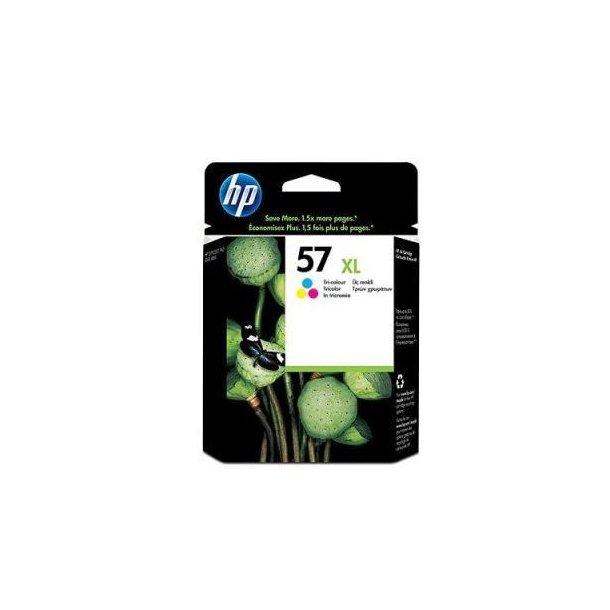 HP 57 XL C (C6657AE) med chip, 3 farve blækpatron,, 17ml