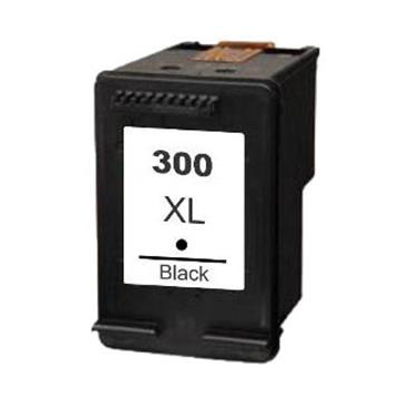 Image of   HP 300 XL BK (CC641EE) sort kompatibel blækpatron 18 ml