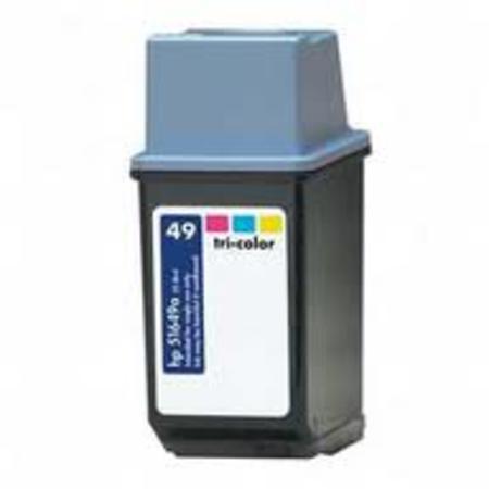 HP 49 C- 51649A Kompatibel - Farve 25 ml