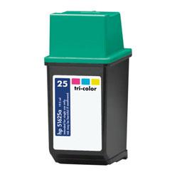 Image of   HP 25 (51625A) farve kompatibel blækpatron (25 ml)