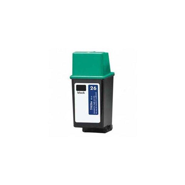 HP 26 – 51626A – Sort 40 ml