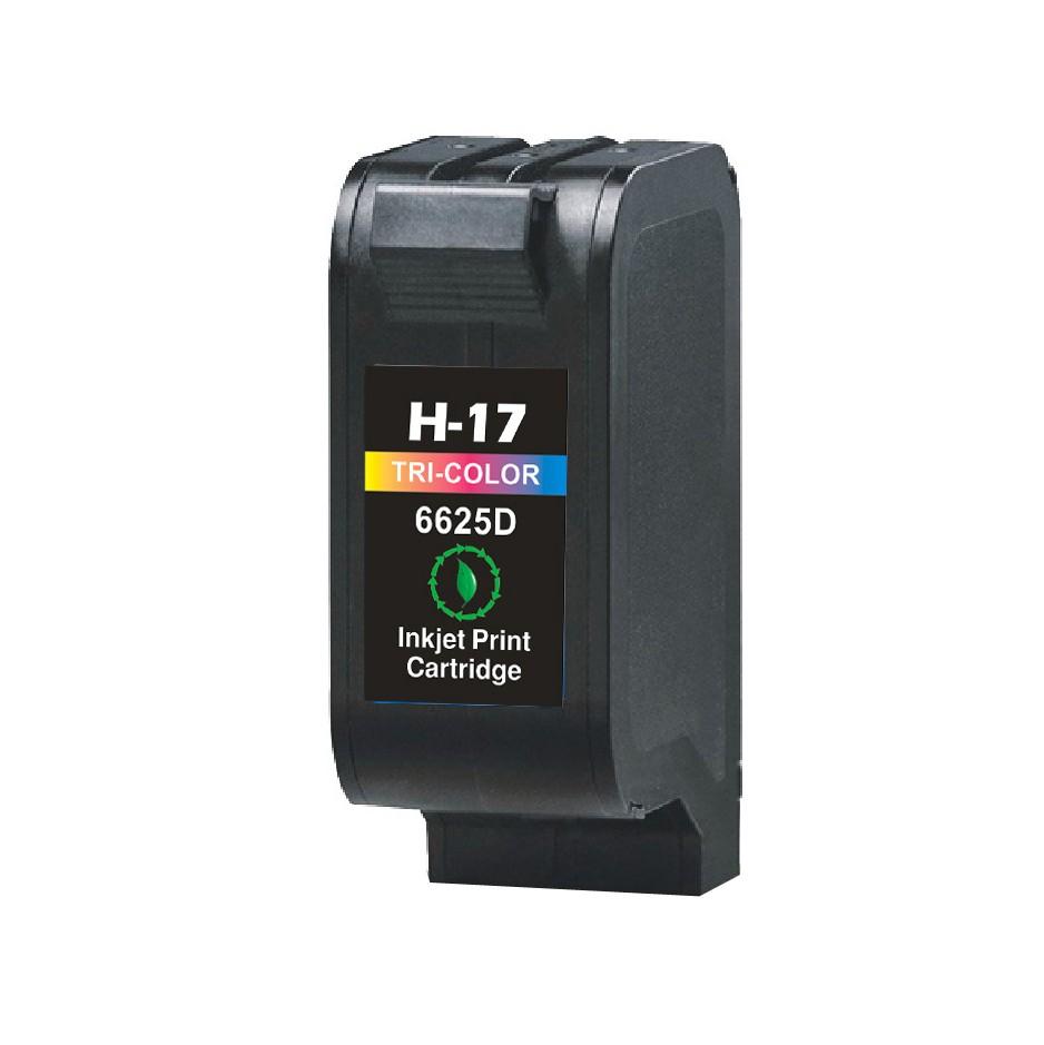 Image of   HP 17 C ( C6625AE )3-farvet, (37ml) stor kompatibel blækpatron