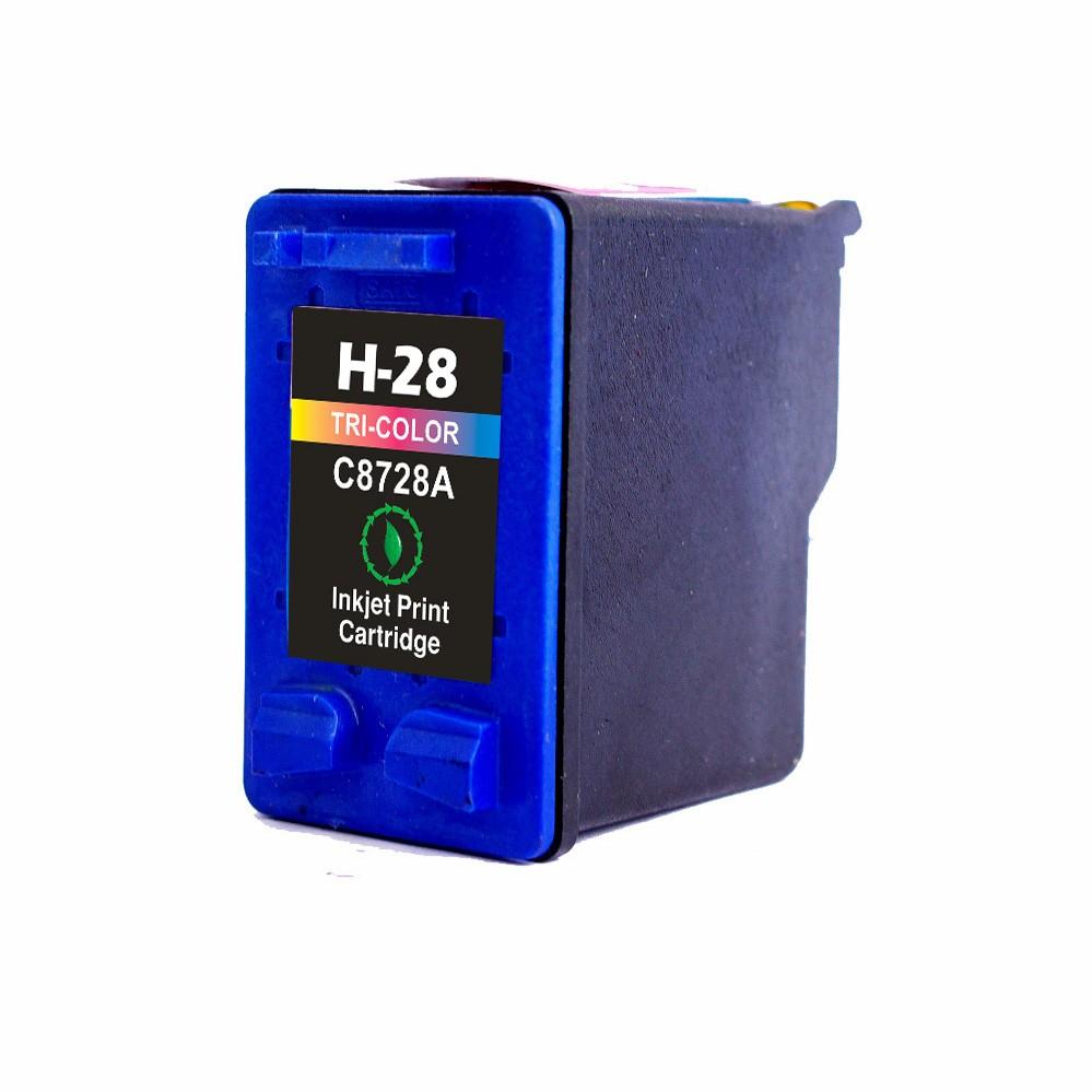 Image of   HP 28C ( C8728AE ) 3-farvet kompatibel blækpatron