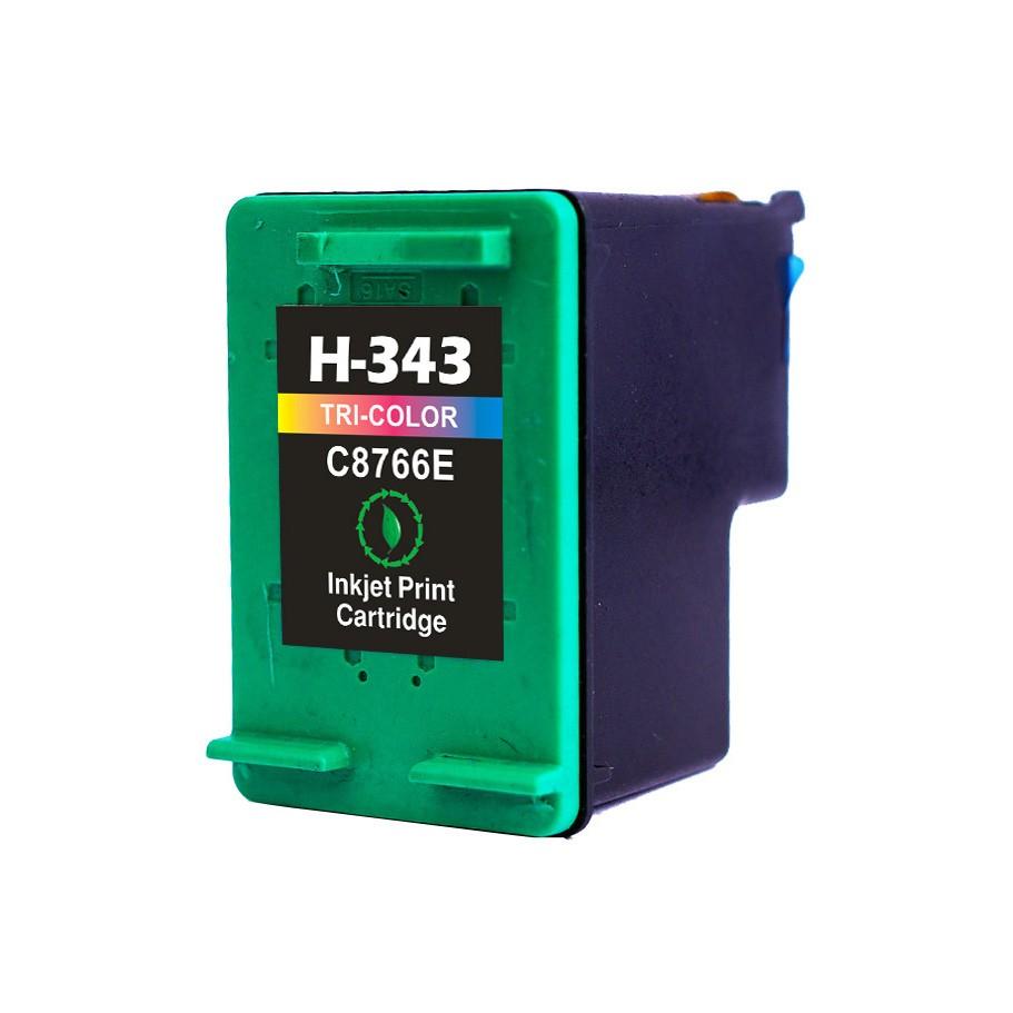 HP 343 C blækpatron - Kompatibel - Farvet 15 ml