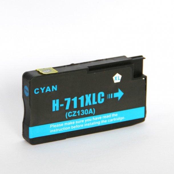 HP 711 XL C (CZ130A) Cyan blækpatron (30 ml)
