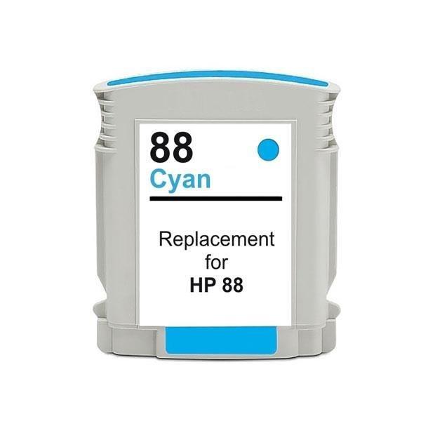 HP 88C XXL (C9391A) Cyan, blækpatron 28 ml