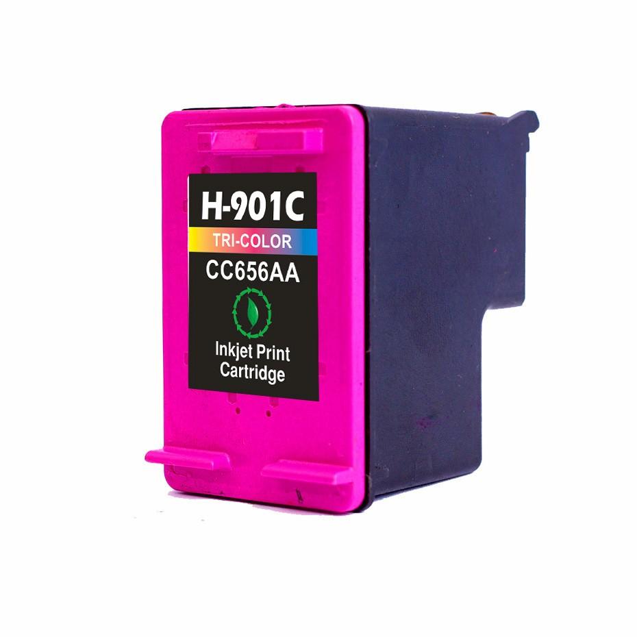 HP 901C XL ( CC656AE ) 3-farvet kompatibel blækpatron