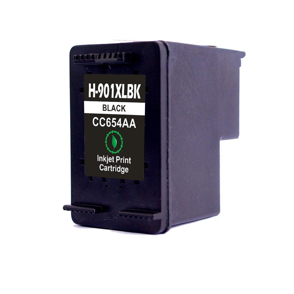 HP 901BK XL ( CC654AE ) sort kompatibel blækpatron