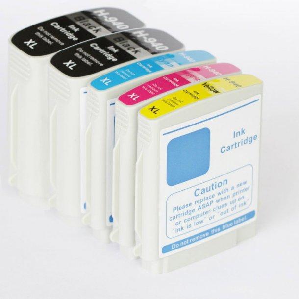 HP 940XL Sampak 5 stk (222 ml)