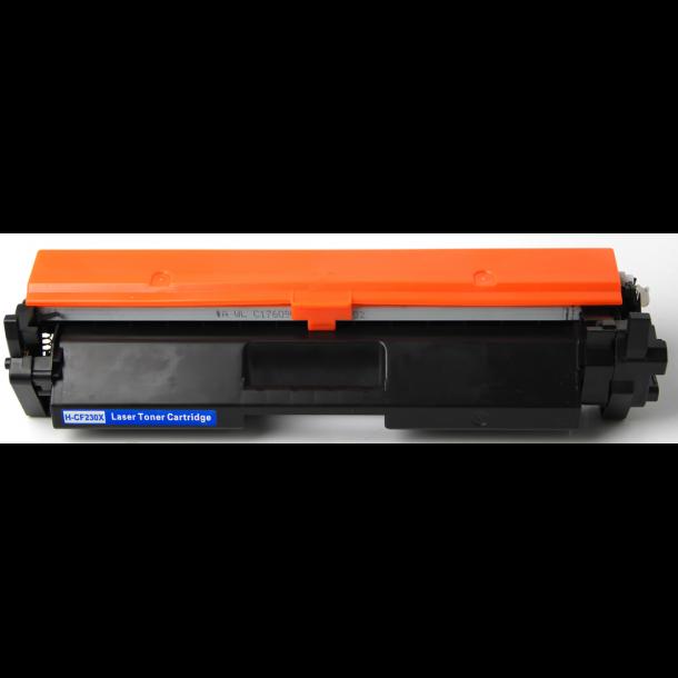 HP CF230X BK (HP 30X) Lasertoner, sort, 3500 sider