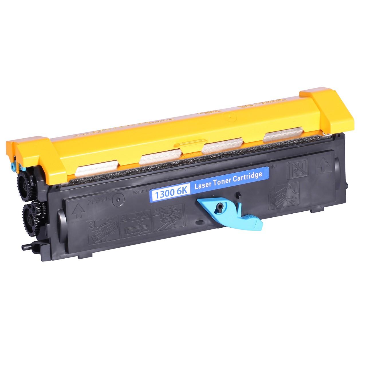 Minolta 1300 6K Lasertoner, sort, Kompatibel, 6000 sider