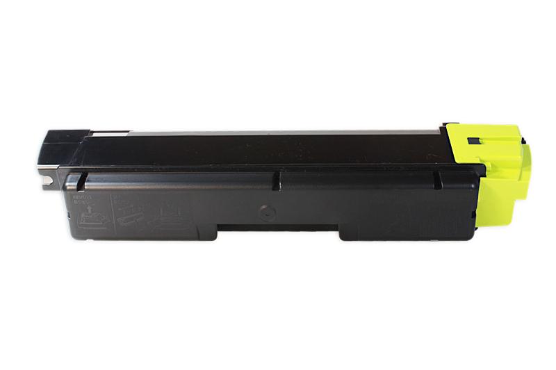 Kyocera TK580 Y Lasertoner, Gul, Kompatibel (2800 sider)