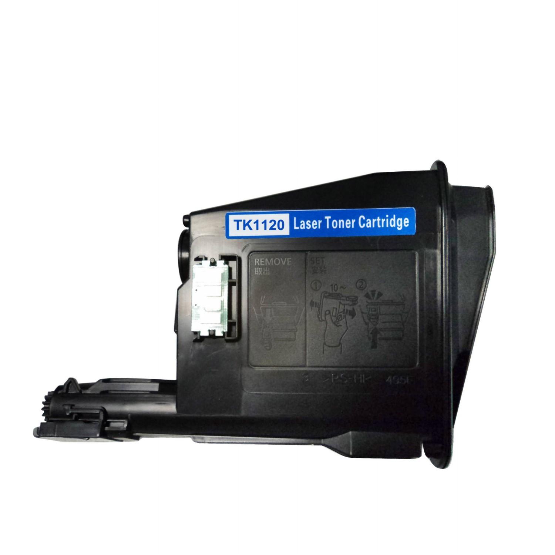 Kyocera TK120 BK Lasertoner, Sort, Kompatibel (6000 sider)