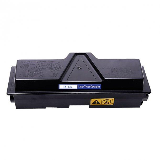 Kyocera TK1130 Lasertoner, Sort, 2100 sider