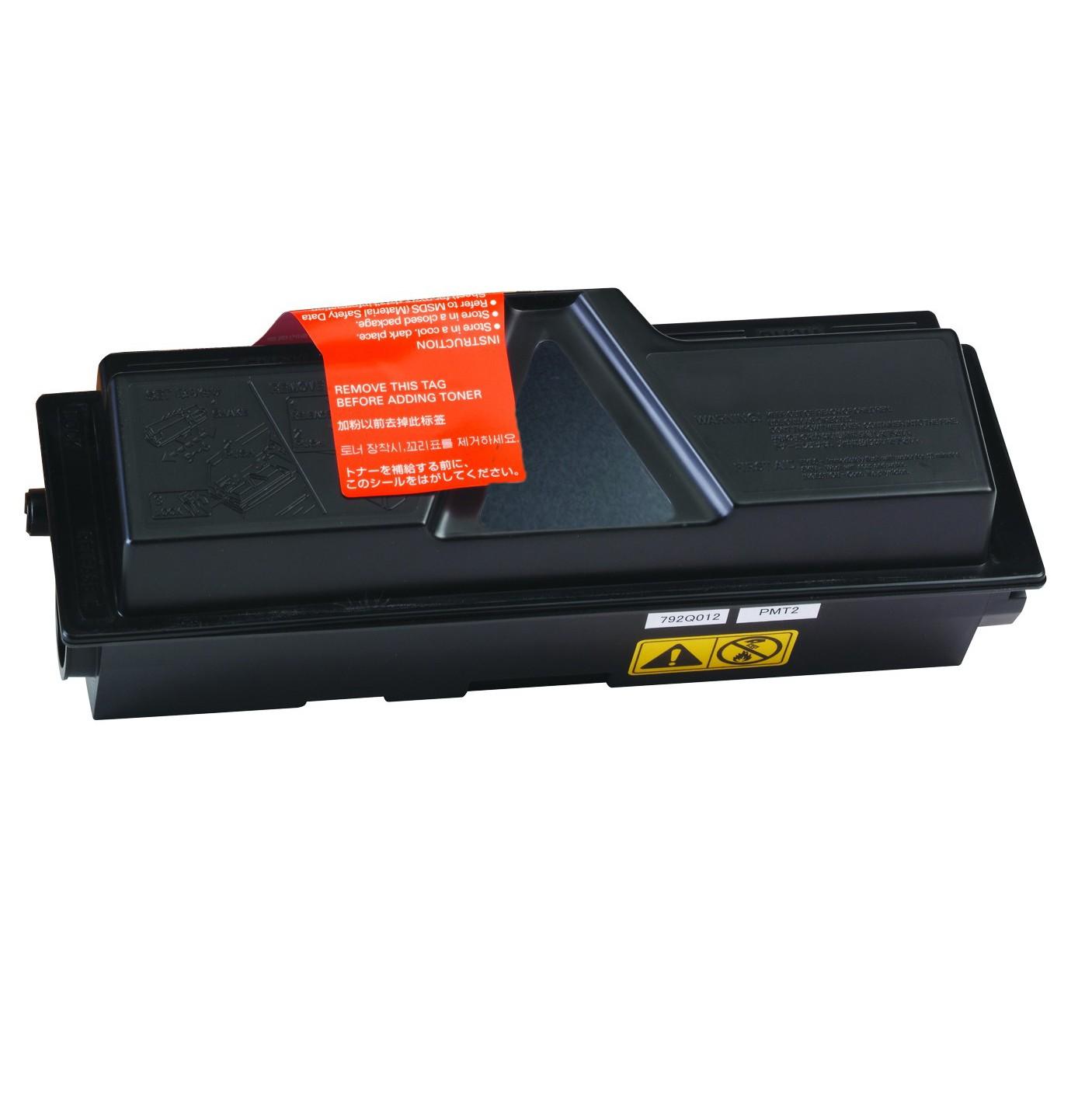 Kyocera TK130/131/132/133/134 Lasertoner, Sort, Kompatibel, 7200 sider