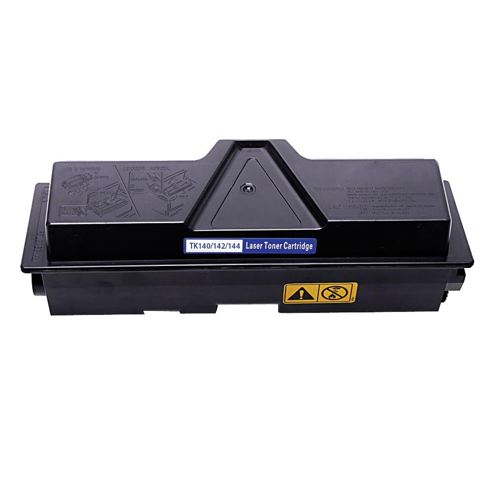 Kyocera TK140/142/144 Lasertoner, Sort, Kompatibel, 4400 sider