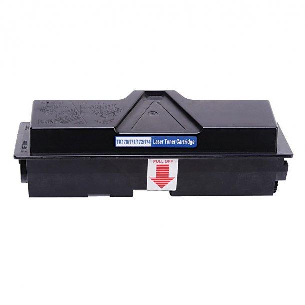 Kyocera TK170/171/172/174 Lasertoner, Sort, 7200 sider
