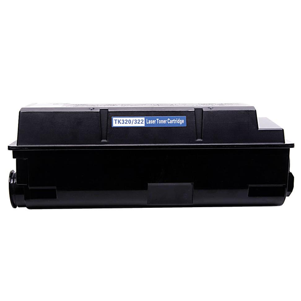Kyocera TK320/322 Lasertoner, Sort, Kompatibel, 15000 sider