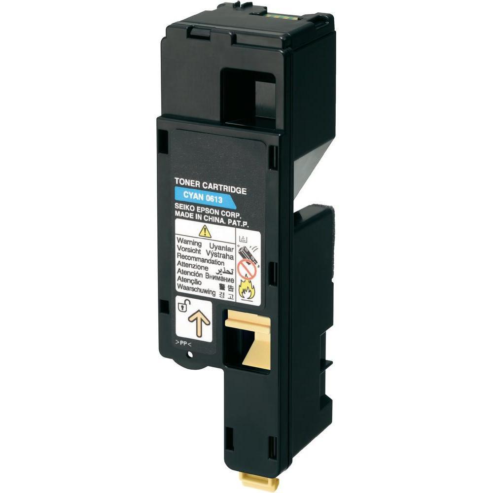 Kompatibel Epson AcuLaser C1700/1750C (S050613) Lasertoner - kompatibel, - Cyan 1400 sidor