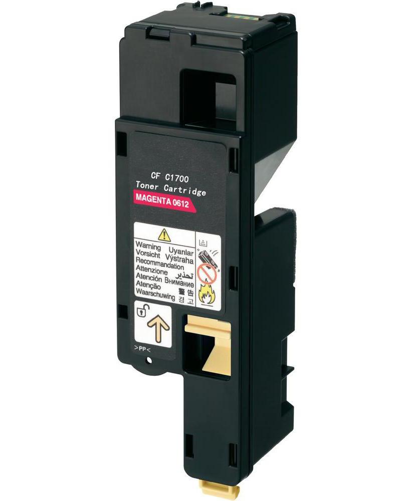 epson aculaser c1700 1750m s050612 lasertoner magenta kompatibel. Black Bedroom Furniture Sets. Home Design Ideas