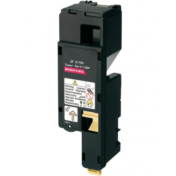 Epson AcuLaser C1700/1750M Lasertoner -. – Magenta 1400 sider