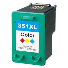 Image of   HP 351 XLCB338EE (21 ml) farve kompatibel blækpatron