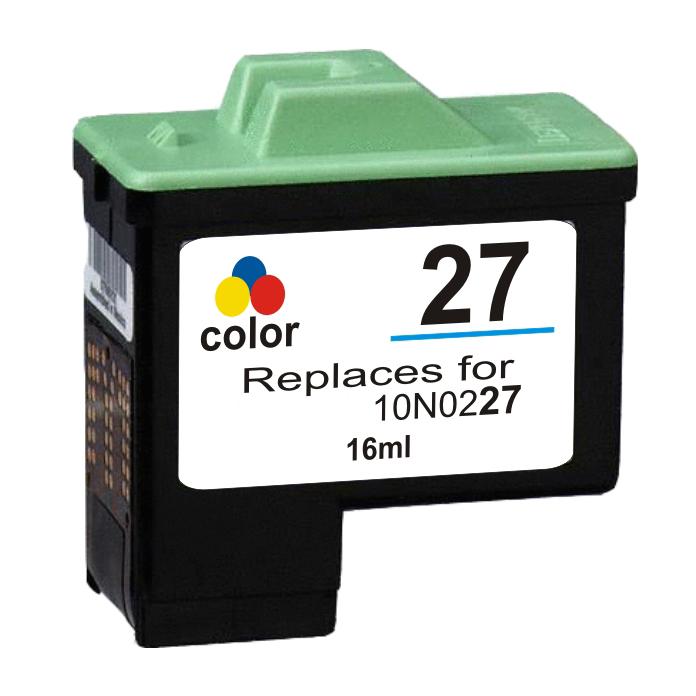 Lexmark 27 - 10N0227 Kompatibel - 3-Farve 10 ml