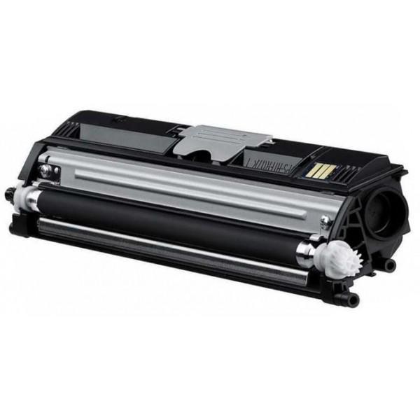 Minolta 1600BK Lasertoner, sort, Kompatibel, 2500 sider