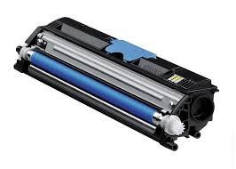 Minolta 1600C Lasertoner, Cyan, Kompatibel, 2500 sider