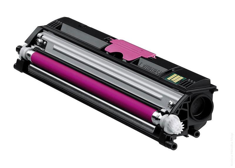 Minolta 1600M Lasertoner, Magenta, Kompatibel, 2500 sider