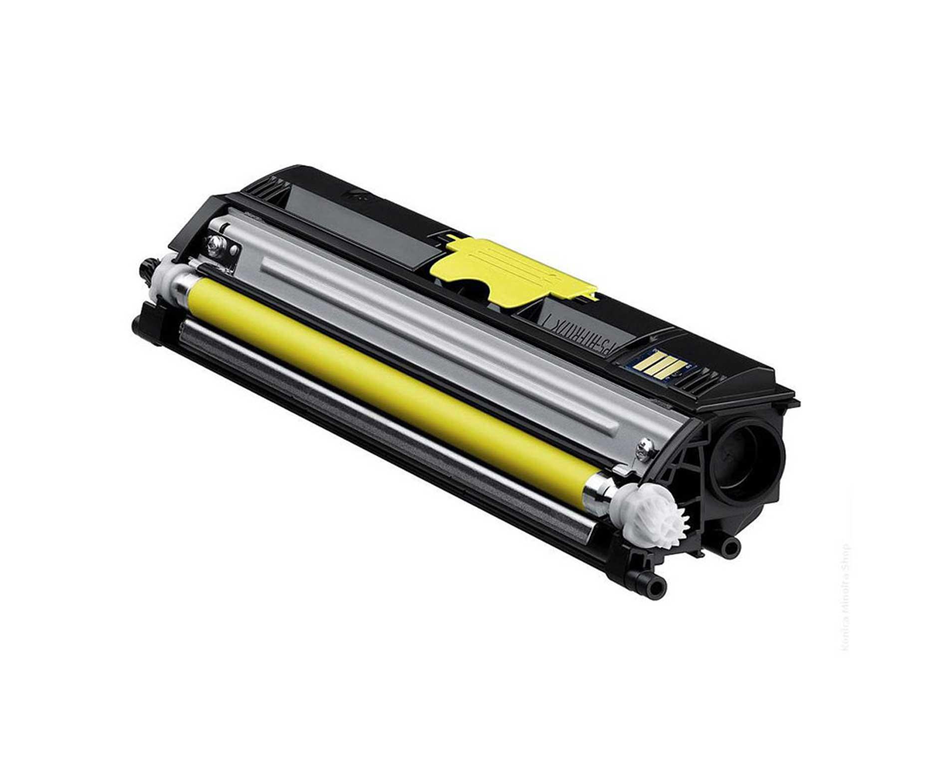 Minolta 1600Y Lasertoner, Gul, Kompatibel, 2500 sider