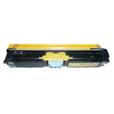 Minolta C15 Y TNP32Y Lasertoner, Gul, Kompatibel (2700 sider)