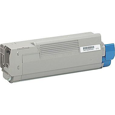 Image of   OKI C5500/6100/6150BK Lasertoner,sort.Kompatibel,8000 sider