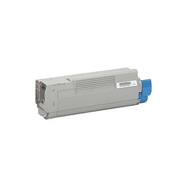 OKI C5500/6100/6150M Lasertoner Magenta 6000 sider