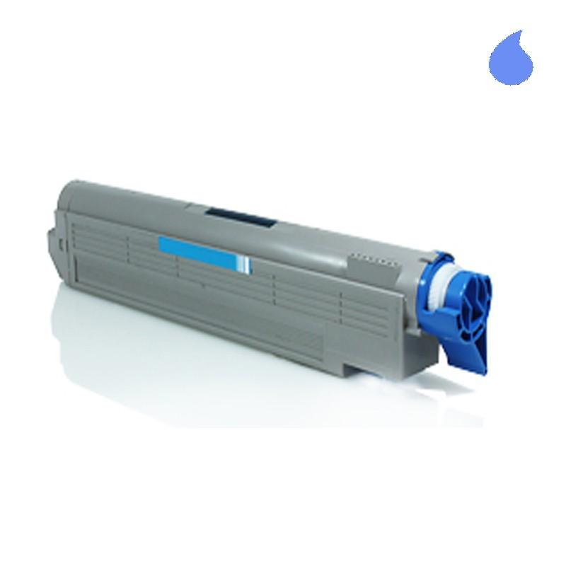Image of   OKI C5650/C5750C Lasertoner, Cyan, Kompatibel, 2000 sider