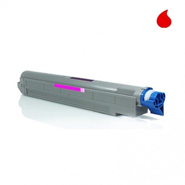OKI C5650/C5750M Lasertoner, Magenta, 2000 sider