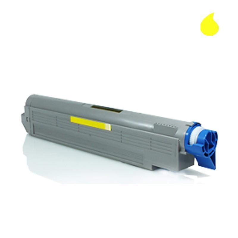 Image of   OKI C5650/C5750Y Lasertoner,Gul.Kompatibel,2000 sider