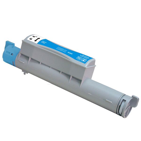 Kompatibel Xerox Phaser 6360C 106R01218 Lasertoner, Cyan, , 12000 sidor