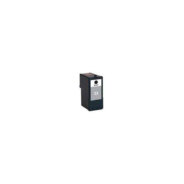 Lexmark 23 BK – 18C1523 – Sort 21 ml