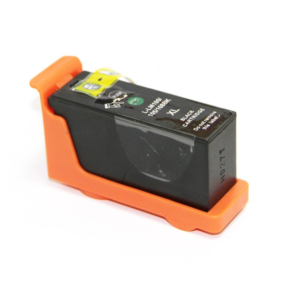 Image of   Lexmark 100XL BK (14N0820E) Sort kompatibel blækpatron (19 ml)