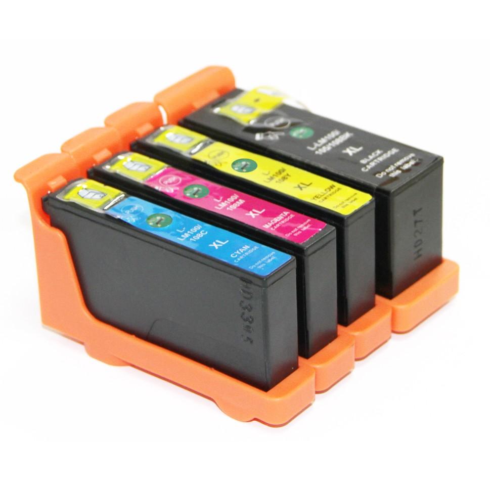Image of   Lexmark 100XL Sampak 4 stk (56,5 ml)
